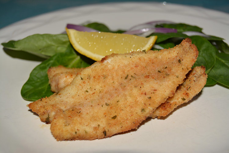 Image of Baked Parmesan Perch